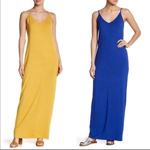 ABOUND YELLOW OR BLUE MAXY DRESS XL